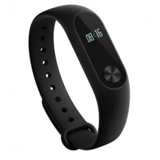 Jual Xiaomi Mi Band 2 Smart Bracelet With 42 Oled Display Touch Key Control Heart Rate Monitor Hitam Ori