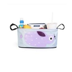 xiyoyo Hikfly Universal Stroller Organizer Baby Bottle Bags Stroller Cupbag Stroller Organizer Baby Carriage Pram Buggy Strolleraccessories Car Bag Basket Storage (Animals, Rabbit)