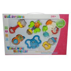 Yaya Shake Rattie Set Mainan Bayi Combine Promo Beli 1 Gratis 1