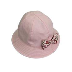 "YBC Motif Bunga Anti Sinar UV Hat Double Hat Bandung Photo: ""-anak Berwarna Merah Muda-Internasional"