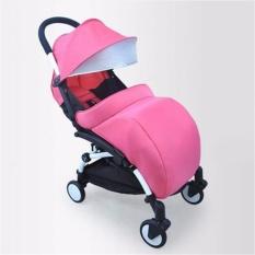 Yingwei Universal Hangat Bayi Stroller Kaki Muff Kereta Pushchair Pram Foot Cover (Pink)-
