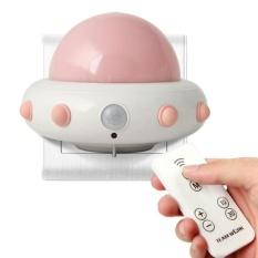 Yitong Anak-anak Cahaya Malam Kecil dengan Timer Plug In Wall Night LampForChildren. Remote Control untuk 3 Mode Pencahayaan. 5 BrightDegree. Waktu 10/30 Min (Pink)-Intl