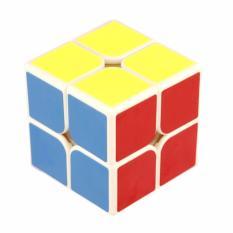 Yongjun Rubik 2 x 2 Base Putih - Mainan Edukasi Rubik 2 x 2 Full Color