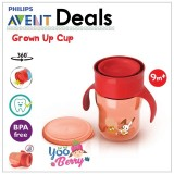 Beli Yooberry Avent Grown Up Cup Gelas Minum Bayi Training Cup Anti Tumpah Online Murah