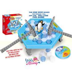 Yooberry Japanese Board Games Save Penguin Balancing Ice Cubes - Permainan Anak Dan Keluarga By Yooberry.