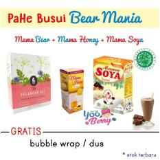 YooBerry PaHe ASI Booster Busui Bear Mania Coklat - Mama Soya Coklat Mama Bear Mama Honey