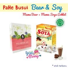 YooBerry Paket Hemat ASI Booster Busui - Mama Soya Coklat Mama Bear