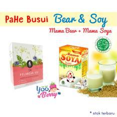 Yooberry Paket Hemat Asi Booster Busui - Mama Soya Mama Bear By Yooberry.