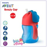 Promo Toko Yooberry Philips Avent Bendy Straw Cup Botol Sedotan Bayi 200 Ml 7 Oz