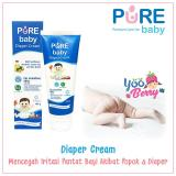 Review Yooberry Pure Baby Diaper Cream Krim Bayi Anti Iritasi Popok Diaper 100 Gr Terbaru