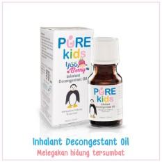 Dapatkan Segera Yooberry Pure Kids Inhalant Decongestant Oil Aromaterapi Melegakan Pilek Dan Flu