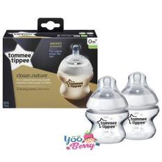 Toko Yooberry Tommee Tippee Closer To Nature Botol Susu Bayi 150 Ml Twin Pack Terlengkap Jawa Barat