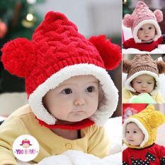 YooBerry Topi Rajut Korea Bayi Kangguru