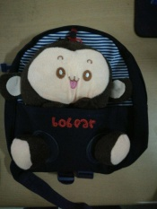 "Galeri You Ba's Cute 3D Monkey Little Ransel Casing Plush Bandung Photo: ""Balita, Navy-Intl"