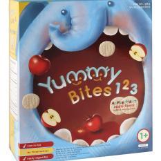 Yummy Bites 123 Apple Snack Biskuit Bayi 50 gr