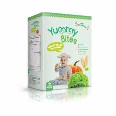 Yummy Bites Snack Bayi / Rice Cracker 50Gr - Sayuran