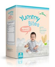 Yummy Bites Snack / Biskuit Bayi Rasa Original