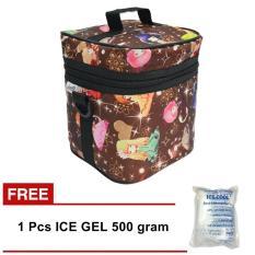 Cuci Gudang Z Two Cooler Bag Asi Tas Asi Coolerbag Tas Penyimpan Asi Gratis Ice Gel