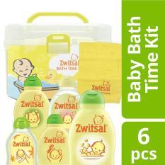 Diskon Zwitsal Baby Bath Kit Free Box Mandi Washlap