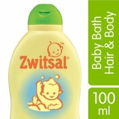 Zwitsal Baby Bath Natural 2-In-1 Hair&body 100ml By Lazada Retail Zwitsal.