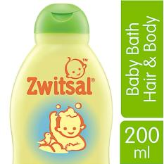 Zwitsal Baby Bath Natural 2in1 Hair & Body - 200ml By Lazada Retail Zwitsal.