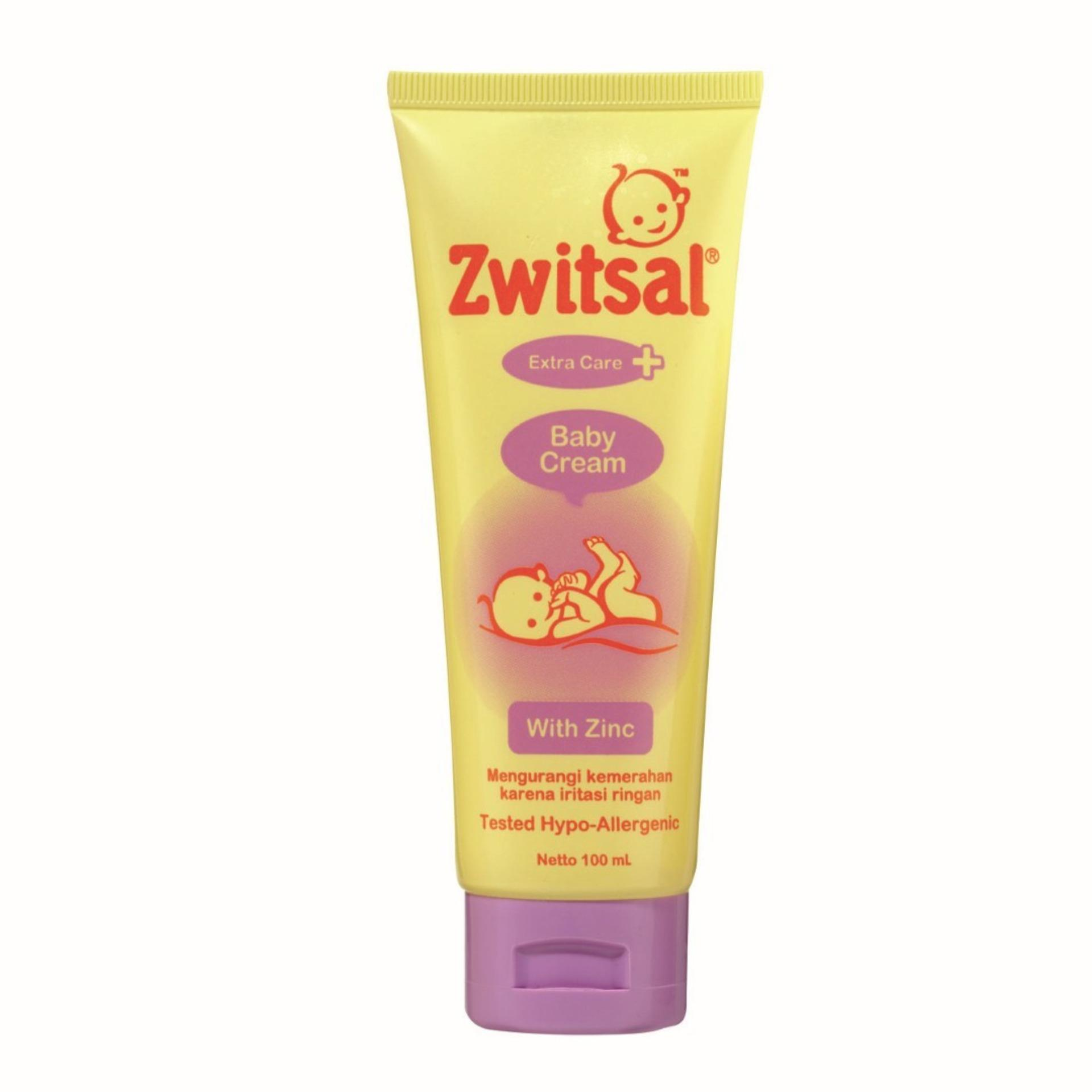 Penawaran Zwitsal Baby Bath Natural Hair Body 2in1 200 Ml Sabun Bayi Lotion Classic 200ml Cream With Zinc 100ml Zbb032