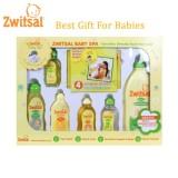 Beli Zwitsal Baby Spa Gift Box Set Hadiah Perawatan Bayi Isi 7 Pcs Cicil