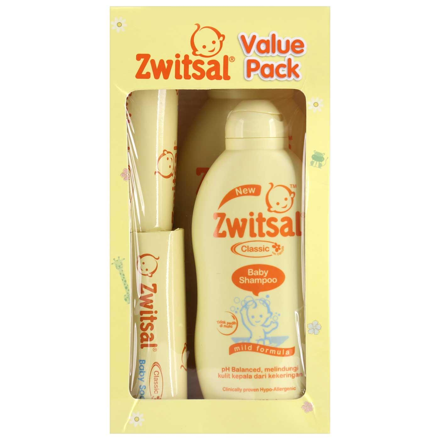 Penawaran Zwitsal Baby Value Pack Toko Perlengkapan Bayi Dan Ibu Hamil Twin Guard Lotion Tube 100 Ml
