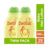 Toko Zwitsal Natural Baby Hair Lotion Aloe Vera Kemiri Seledri 200 Ml Twin Pack Isi 2 Pcs Online