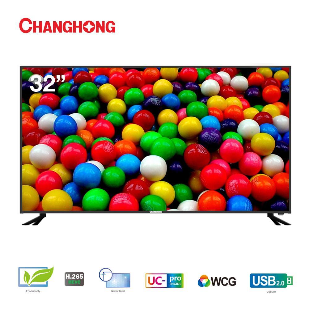 CHANGHONG LED TV 32 Inch - HD TV - USB/HDMI - L32E6000A - Garansi Resmi 3 Tahun
