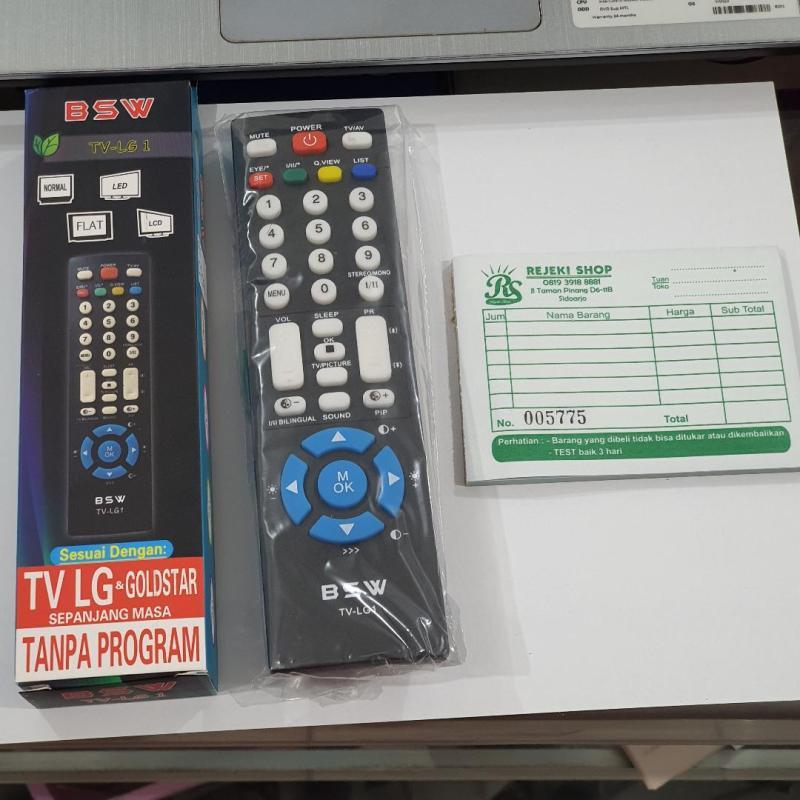 REMOTE TV LED LCD LG MERK BSW LG1 UNTUK LG SIDOARJO