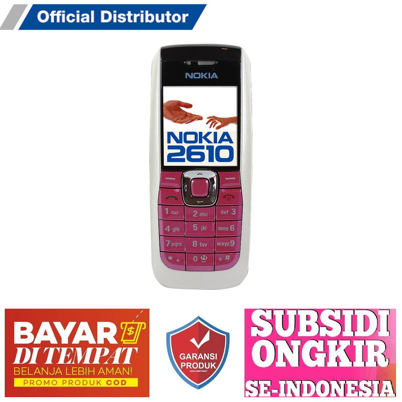 Nokia 2610 - HP Murah - HP Jadul - HP Orang Tua - HP Pendamping TERLARIS TERMURAH !!!