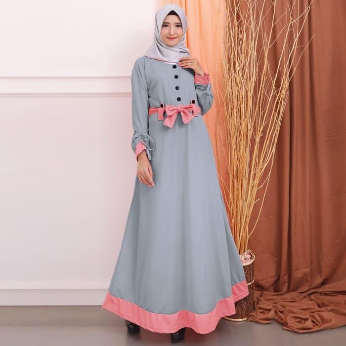 DnD - PROMO GAMIS JUMBO MURAH BAHAN WAFER Baju Gamis Gamis wanita Baju  Muslimah Fashion Muslimah 2e55712cc0