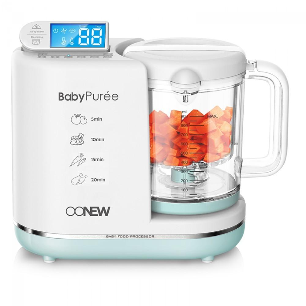 OONEW baby pure Food Processor 6in1 Steamer Blender Mpasi Bayi Green Honeydew