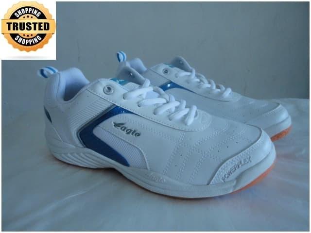 Sepatu Badminton EAGLE- Winstar Blue