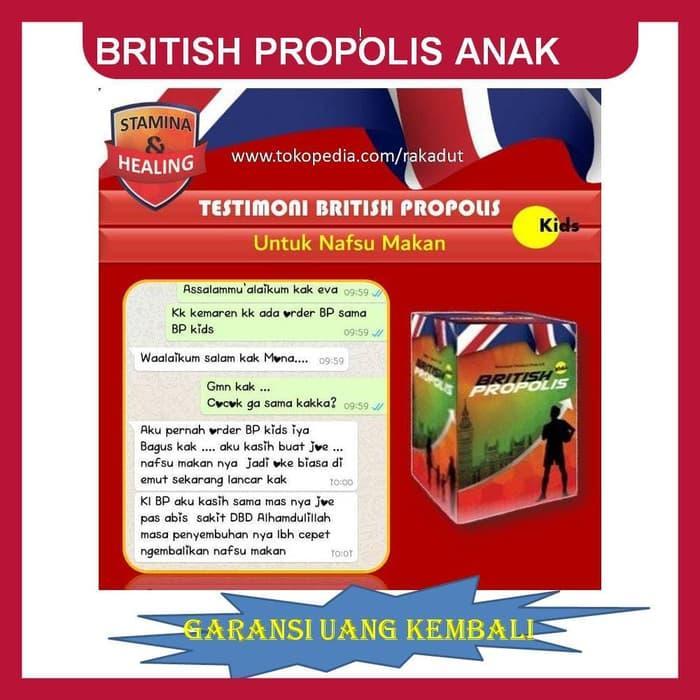 PROMO BRITISH PROPOLIS KIDS ASLI