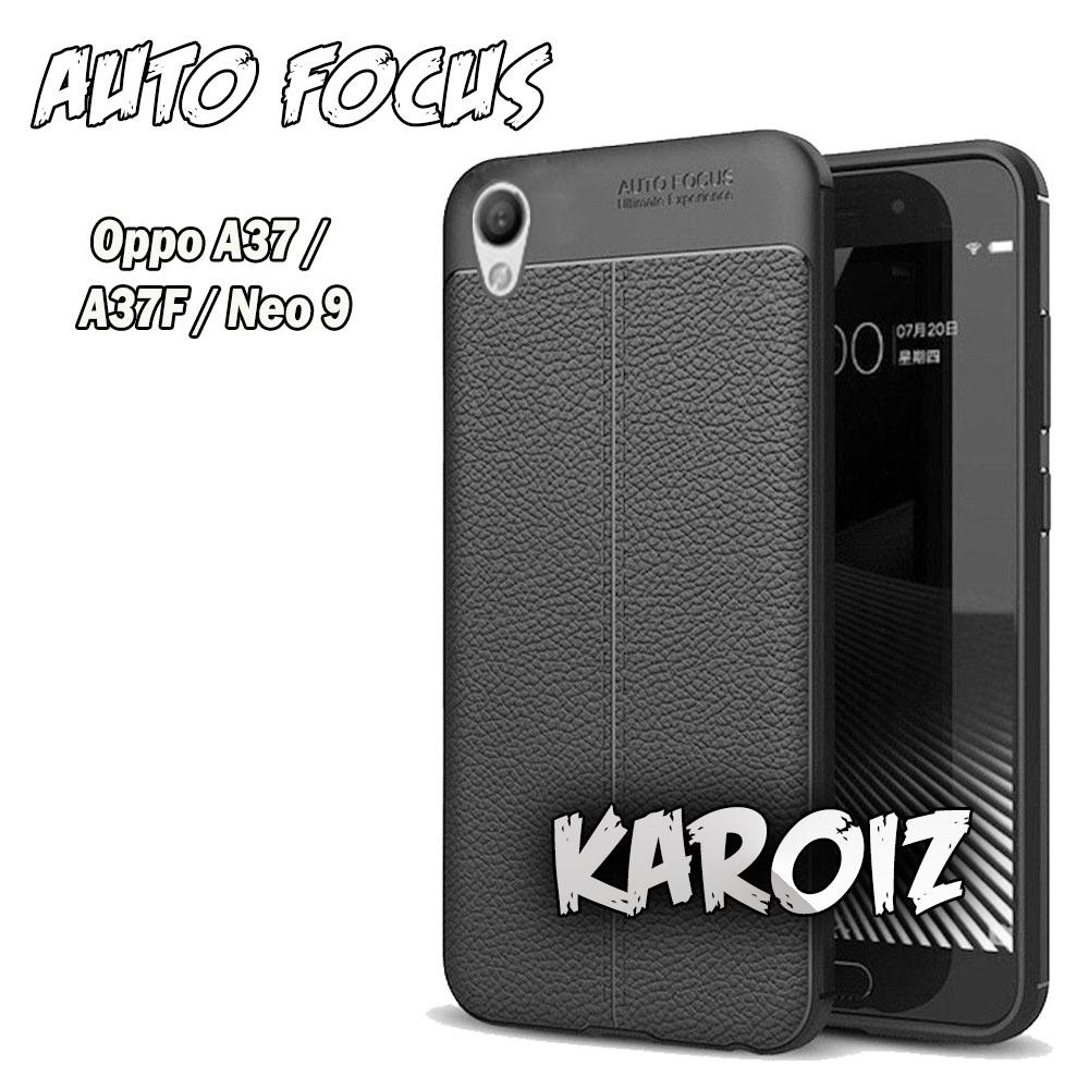 Case Auto Focus Oppo A37 / A37F / Neo 9 Leather Experience Softcase Jelly Silicon Slim