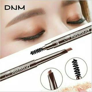 DNM 3D Automatic Eyebrow Pencil Three Dimensional Eyebrow Shape Pigmented Waterproof Long Lasting 2IN1 PENSIL ALIS thumbnail