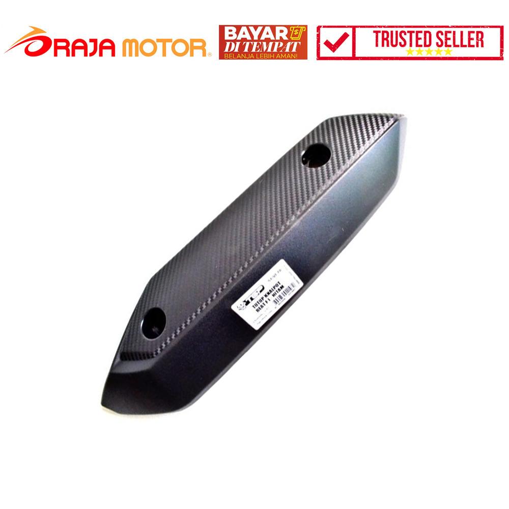 PROMO TGP Cover Knalpot Honda Beat Injeksi - Hitam - Aksesoris Motor - Variasi Motor - BAYAR DI TEMPAT - GRATIS Lampu LED Motor Belanja 99Ribu