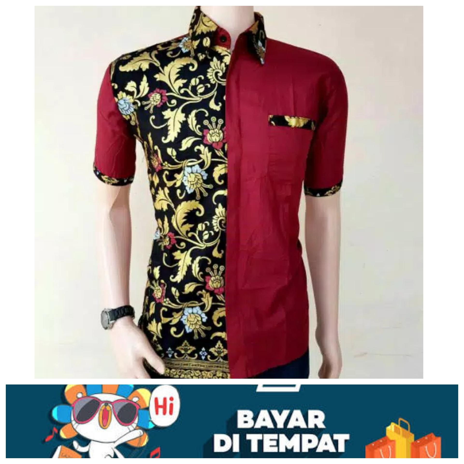 Model Baju Batik Terbaru   Baju Batik Modern   Batik Masa Kini   Baju Batik  Pria ba00627c48