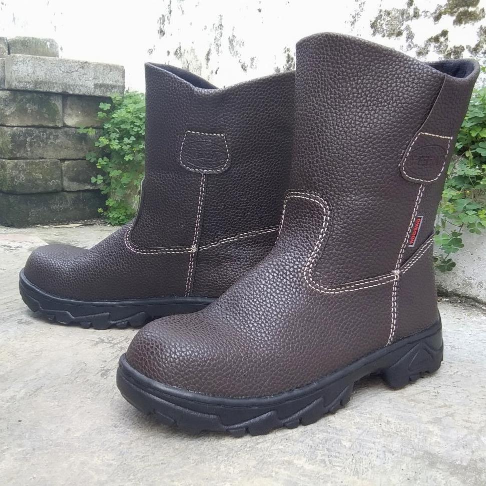 Sepatu Safety Boot Sepatu Sefti Septi Saveti King Kingstil Chetah Jogger Sepatu Kerja Pabrik, Proyek & Industri Berkualitas Harga  Terjangkau