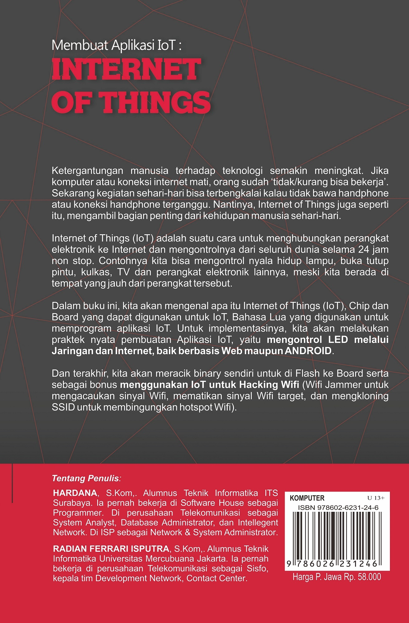 BUKU KOMPUTER MEMBUAT APLIKASI IOT: INTERNET OF THINGS - LOKOMEDIA ...