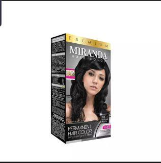 Miranda hair color MC-1 Natural Black (free 1 pasang sarung tangan) thumbnail