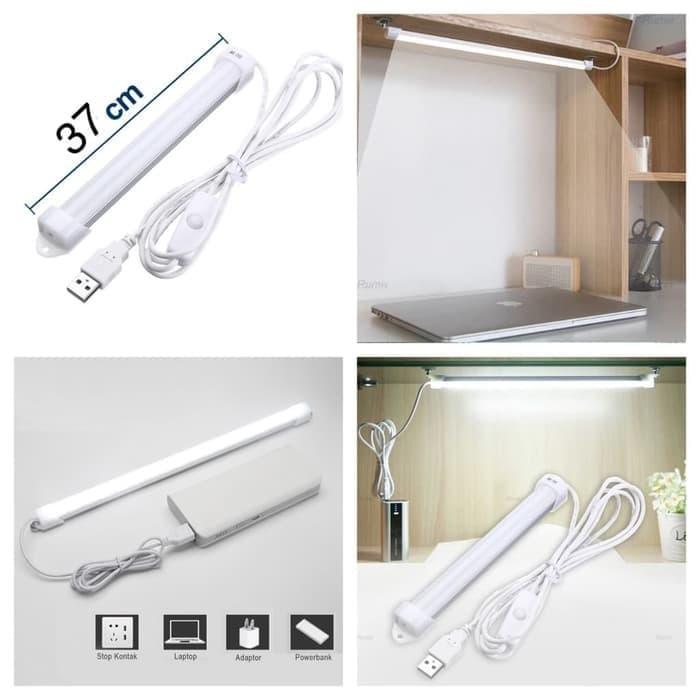 Termurah dan Bisa Cod Lampu LED Neon USB Strip 37cm Ruang Belajar Kerja Baca Tidur Rumah Sedia Juga lampu hias untuk meja belajar/lampu meja belajar ikea/lampu meja belajar bulat/lampu meja belajar philips/lampu meja belajar anak karakter