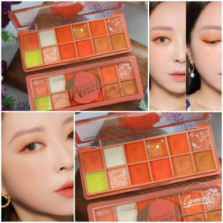 COD - IMAN OF NOBLE Sweet Peach Smells Like Peaches 12 Eyeshadow Palette Grosir Kosmetik thumbnail