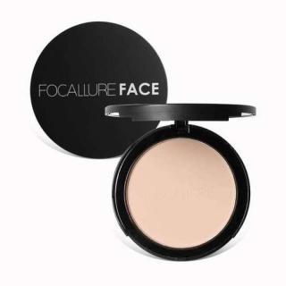 K Fashion Focallure Mineral Pressed Powder Palette Face Brighten Concealer Base Foundation Makeup Smooth Oil Control Contour Matte Powder Face setting Powder With Sponge FA16 - 3 Colours thumbnail