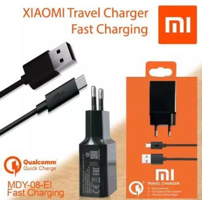Charger Xiaomi Fast Charging Quick Charging USB Micro Original 100%