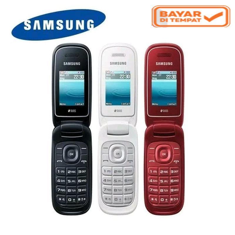 SAMSUNG E1272 - Dual SIM Card Merek Samsumg Kualitas Yang Terjamin Garansi Toko 3 Bulan (Refurbish)