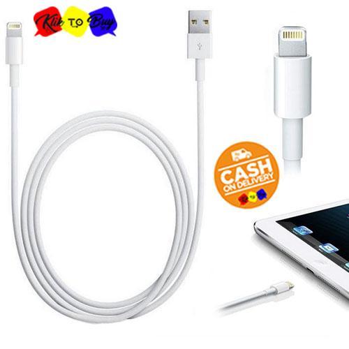 ORIGINAL 100% Kabel Data Charger Carger Casan Iphone 6S 6 5S 5 5C 7 8 / Cable Lightning Kabel Data