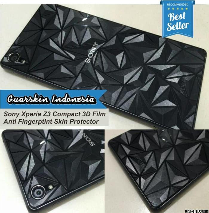 Skin Garskin Diamond Clear to Case Sony Xperia Z1/Z2/Z3 Compact Docomo